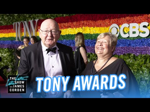 James Corden's Parents Conquer the 2019 Tony Awards