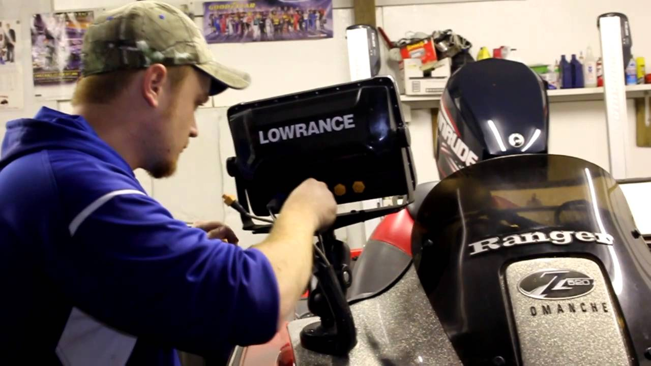 installing new lowrance hds 12 touch fish finders and more - youtube, Fish Finder