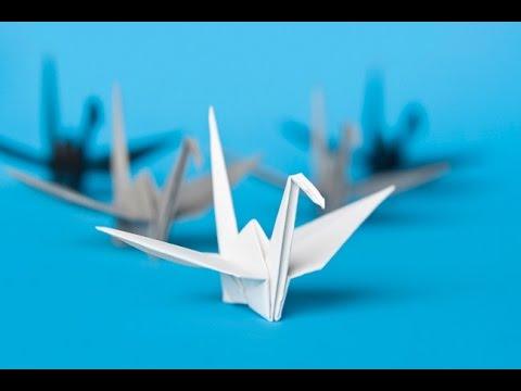 Origami Le origami come piegare una gru di carta