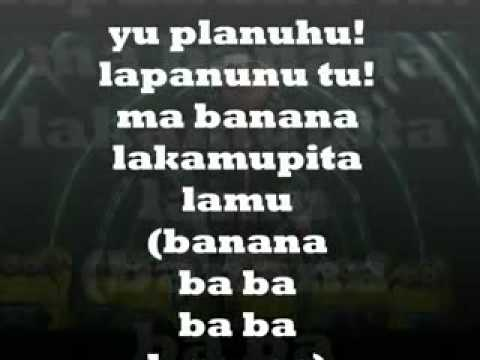 despicable me 2 banana lyrics