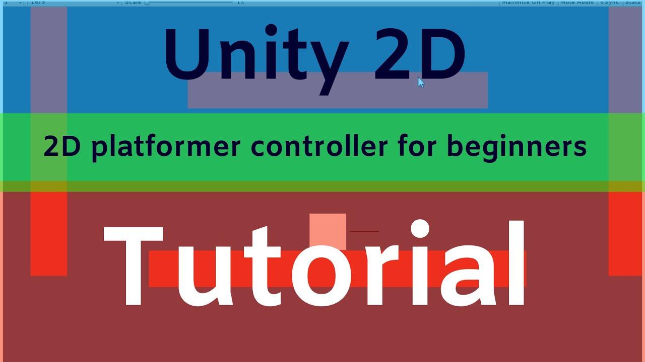 Unity 2D platformer controller wall jump tutorial