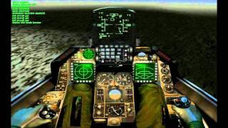 F- 16 AGGRESSOR -  MAROCCAN MISSÃO NOTURNA
