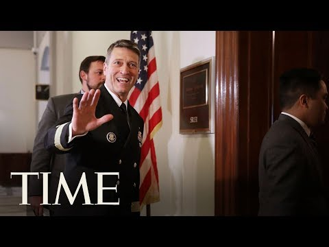 Ronny Jackson Withdraws Bid To Lead VA, President Trump Bashes Dems For Trying To Destroy Him | TIME