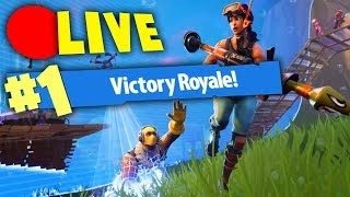 🔴 LIVE - Fortnite Battle Royale !! NON HO MAI FATTO UNA VITTORIA REALE IN LIVE..