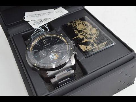 Wired Watches | Avag777 Seiko Wired Metal Gear Solid V Ground Zeroes Watch Youtube