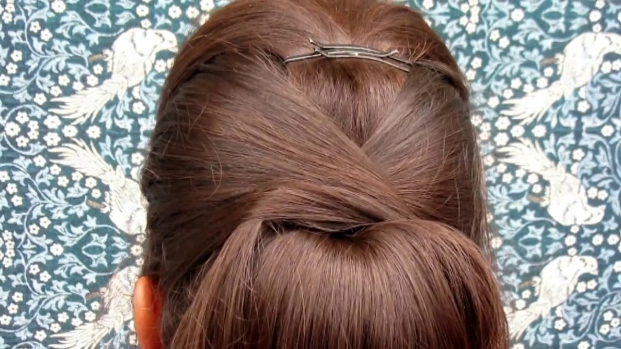 Most Beautiful Party Hairstyle Dutch Ponitail Updo Youtube