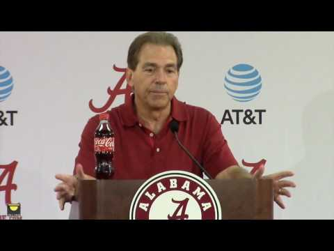 Rewinding Nick Saban's Monday press conference, video