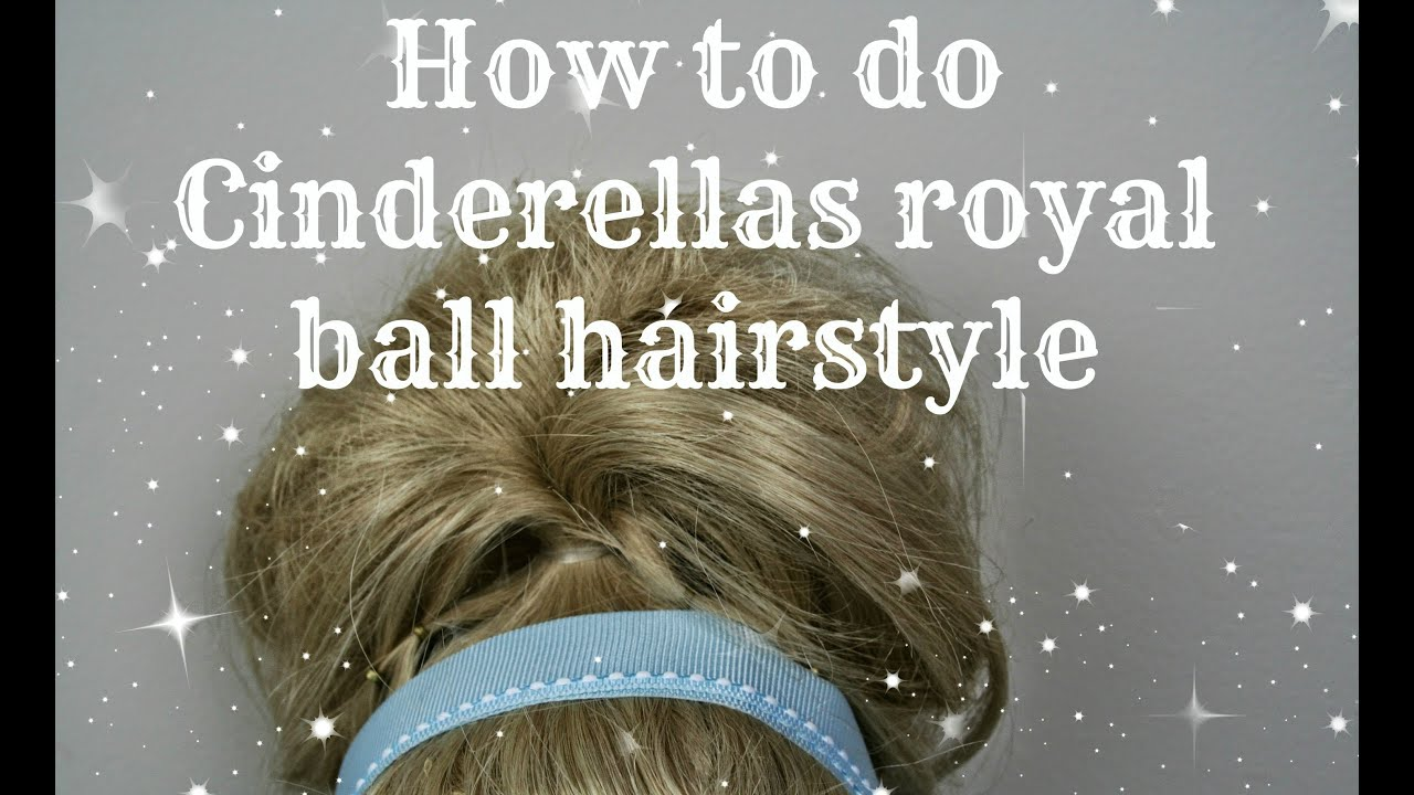 How To Do Cinderellas Hairstyle For The Ball On Ag Dolls Youtube