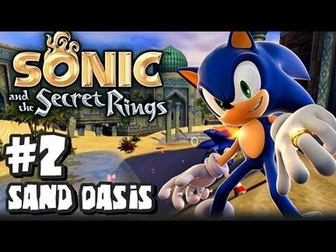 Sonic And The Secret Rings Wii - (1080p) Part 2 - Sand Oasis