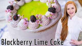 Ultimate Blackberry Lime Cake