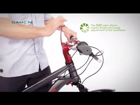Folding Bikes By DAHON - Flat Pak Technology