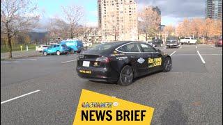 Kelowna Cabs adds Tesla to fleet