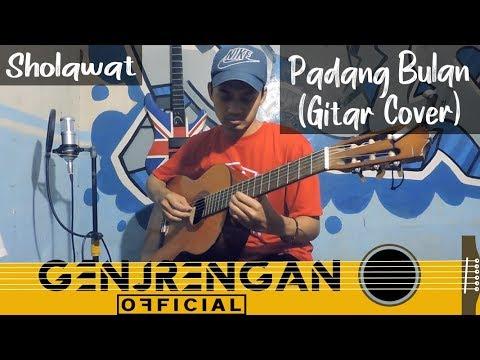 Padang Bulan Sholawat Gitar Cover Genjrengan Official