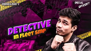 New Detective In Fleet SMP @Live Insaan @Mythpat   | Day #73