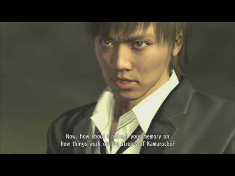 Yakuza 4 -  Tanimura VS Munakata and bodyguards - No Damage ( with weapons) ,  Hard, 60 Fps.