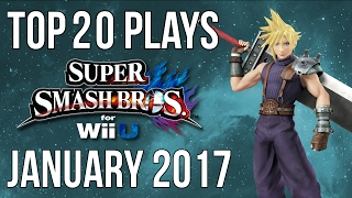 Top 20 Smash 4 Plays of January 2017 - Smash Bros for Wii U