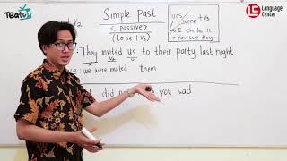 Download lagu Seperti Ini Cara Membuat Kalimat Pasif Dari Simple Past | TEATU with Mr Diaz - Kampung Inggris LC