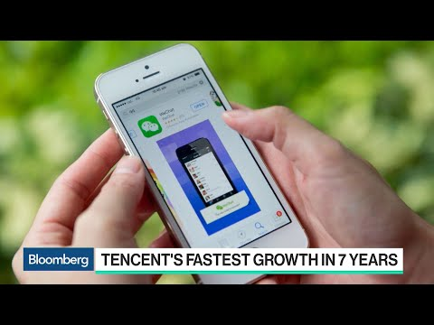 Tencent Posts Fastest Growth in Seven Years