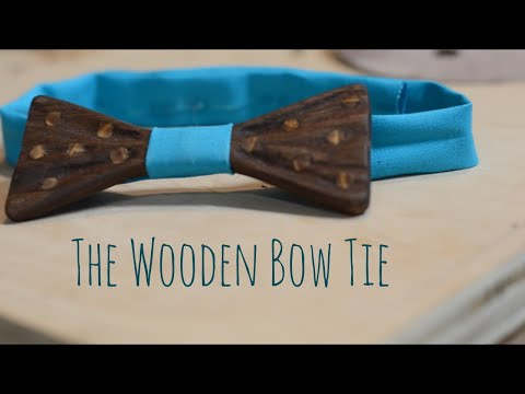 Making The Wooden Bow Tie