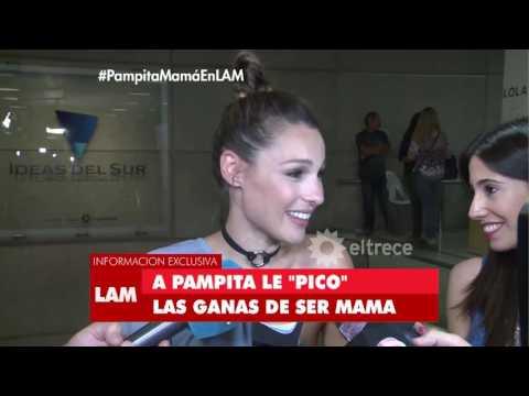 Pampita habló de Pico y de Benjamin y las ganas de ser madre otra vez