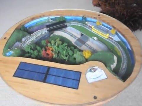 japanese tram coffee table model train layout - youtube