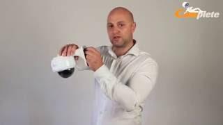 Product film Dome IP beveiligingscamera 1080p Full HD, zoom lens en 30 meter nachtzicht