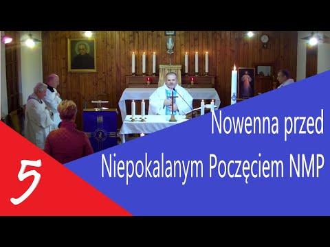 NIEPOKALANÓW  KAPLICA ŚW  M.KOLBE– 03.12.2018 - NOWENNA DZIEŃ 5