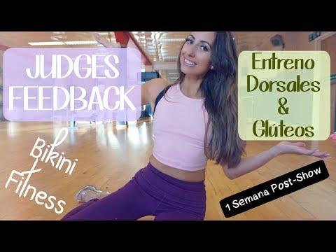 ♡ FEEDBACK de mi primera competición fitness ♡ Entreno de dorsales y glúteos