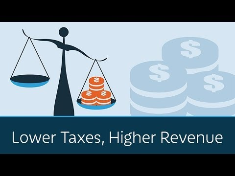Lower Taxes, Higher Revenue - YouTube