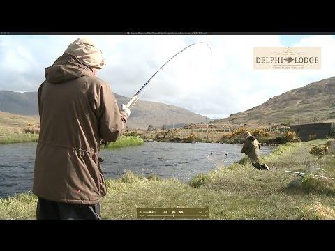 Delphi Record Salmon 20lbs11ozs - Delphi Lodge & Fishery Ireland Connemara