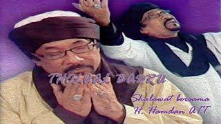 Hamdan ATT - Tholaal Badru (Shalawat Bersama H. Hamdan ATT) KARAOKE