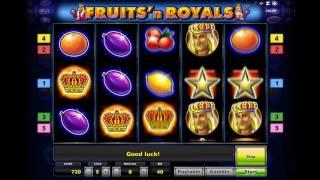видео Игровой автомат Fruits & Royals - Фрукты и Короли - играйте онлайн бесплатно