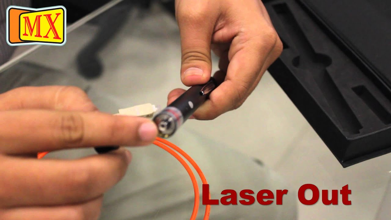 how to use fiber optic cable visual fault locator to locate breakage