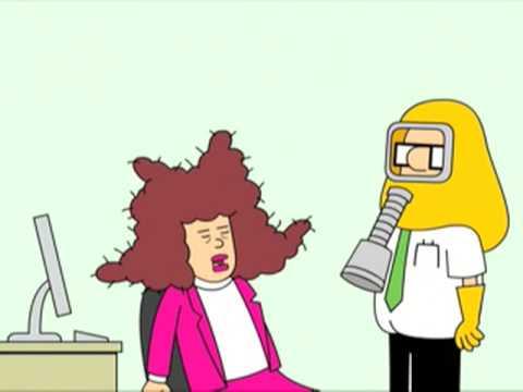 Dilbert:  Sneezing Alice Video