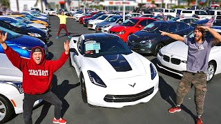 Hide N Seek in Car Dealership! *Winner Gets Car*