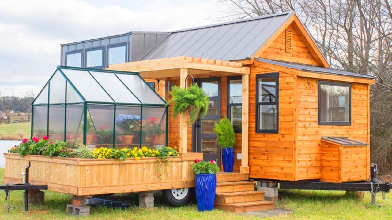 Tiny Home Designs: The Elsa By Olive Nest Tiny Homes