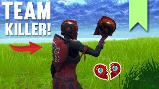 TEAM KILLER GETS KARMA! | FORTNITE FUNNY FAILS AND BEST MOMENTS #050 (DAILY MOMENTS)