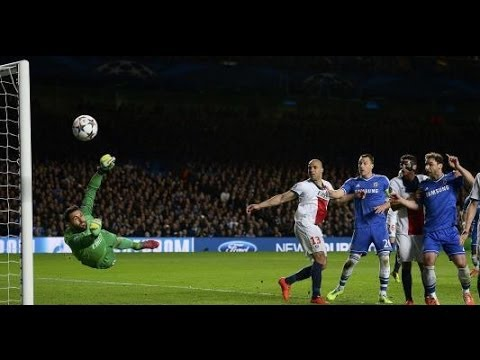 Chelsea vs PSG 2-0  ~ All Goals & Highlights - 08.04.2014 Champions League