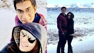 Soundarya Rajinikanth and Vishagan  Honey Moon at Iceland | Latest cinema news |