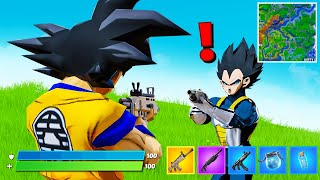 Arriva DRAGON BALL! GOKU e VEGETA su Fortnite! #GigiNews Fortnite ITA!