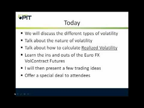 Understanding & Trading Currency Volatility
