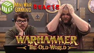"""Miniwargamers React To """"warhammer: The Old World"""" Announcement"""
