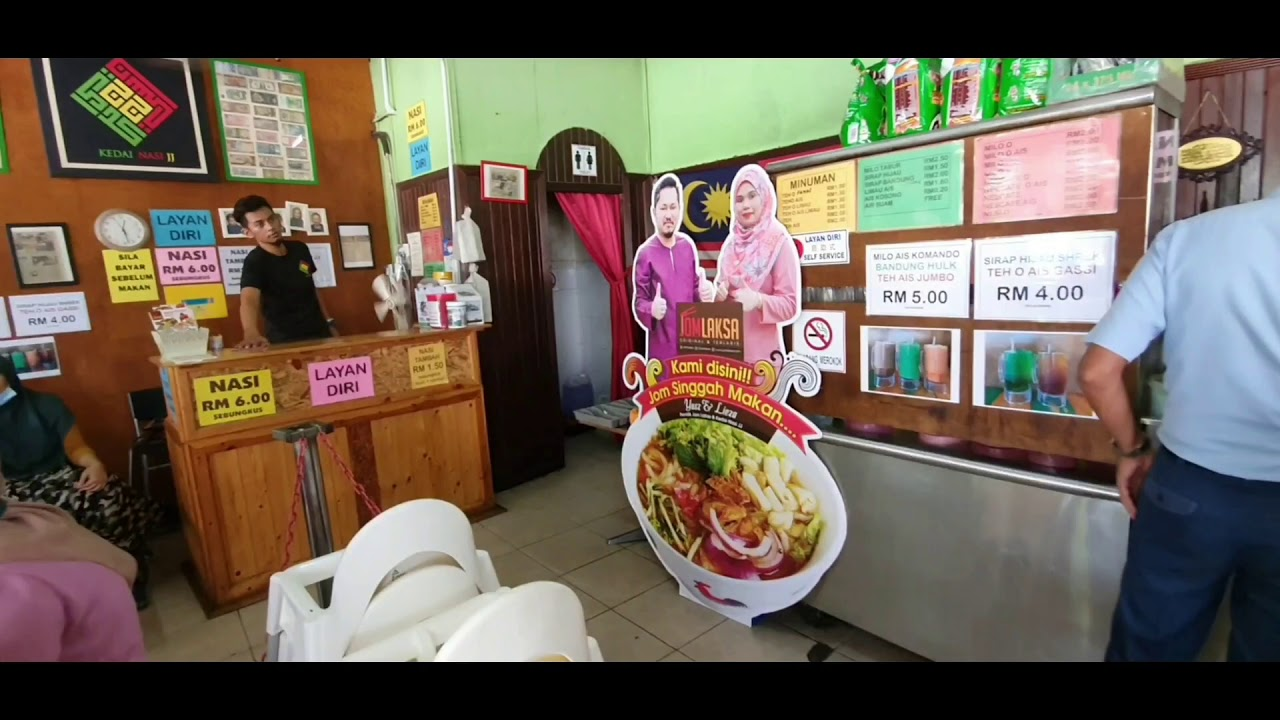 Nasi Kak Wok JJ Seksyen 24 Shah Alam - SOME BULLET FOR