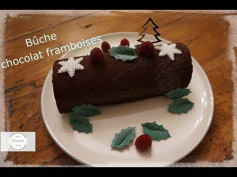 ❄-recette-allégée-de-bûche-chocolat-framboises-❄