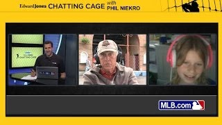 Chatting Cage: Niekro answers questions from fans