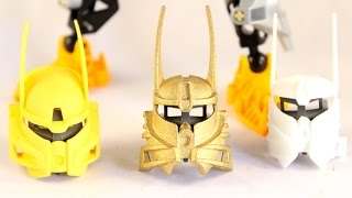 Bionicle Shapeways Unboxing: Two Kanohi Ignika's (Part 1)