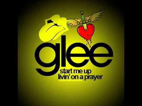 Glee: Livin on a prayer/Start me up (Male Version)