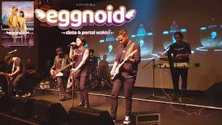 Nidji - Cinta & Portal Waktu ( OST. Eggnoid) | LIVE AT EGGNOID PRESS CONFERENCE