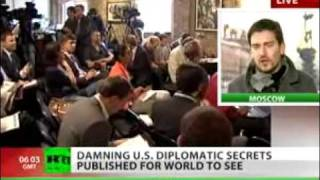 Video WikiLeaks  Damning US diplomatic secrets exposed for world to see - RT 101129.flv download MP3, 3GP, MP4, WEBM, AVI, FLV Juli 2018