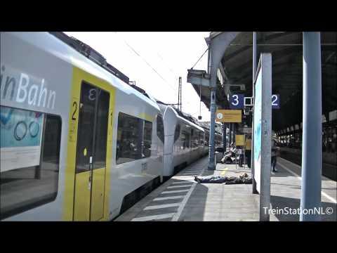 Vertrek Trans Regio 460 005-2 + 460 009-4 Station Bonn